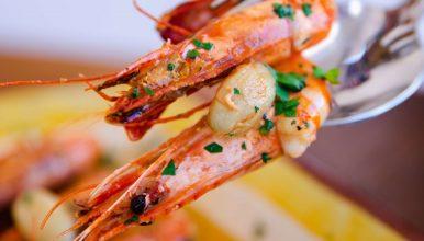 Restaurante Touril & Celso - camarão alhinho